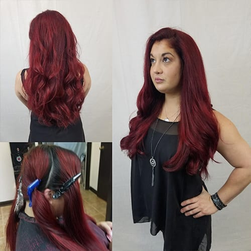 The Salon of Classic AutoSmith Red Hair Color