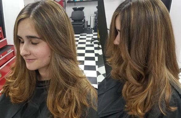 Cold Brew Fall Hair Color Inspiration